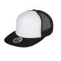 berretto-visiera-piatta-bicolor-bianco-nero